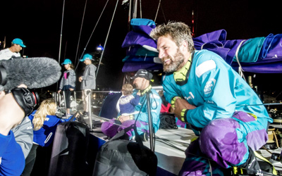 Sailing Innovation Centre volop in beeld tijdens finish Volvo Ocean Race