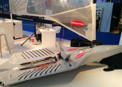 Ontwikkeling hydrofoil zeilboot